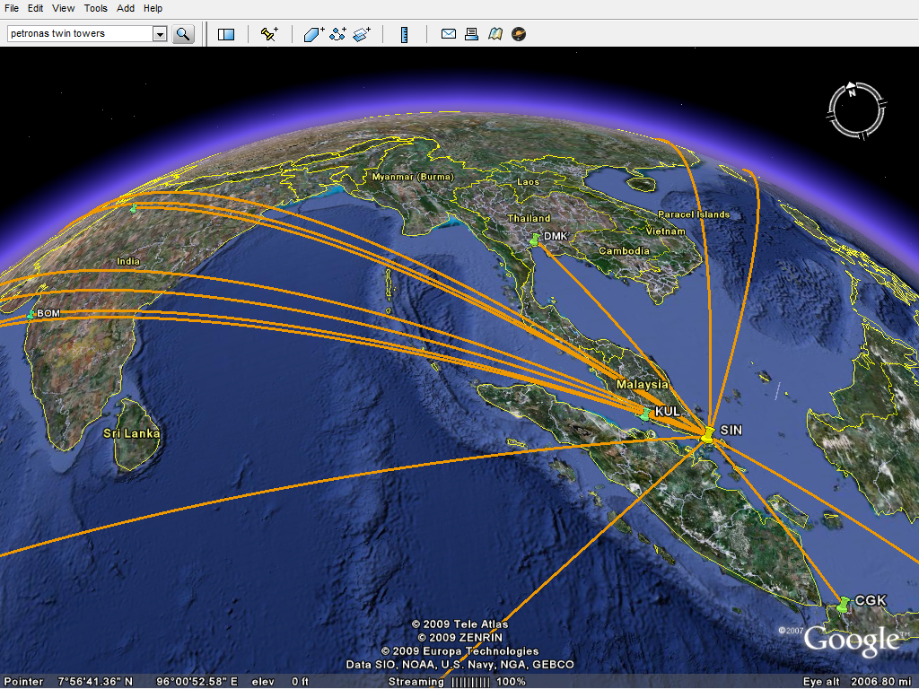 Give your flights a spin in 3d on google earth openflights gumiabroncs Image collections